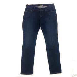Old Navy The Diva Dark Wash Skinny Jeans 6 Short